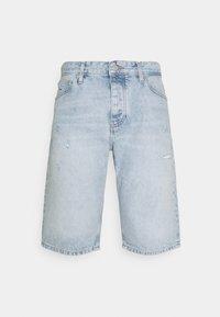 ETHAN RELAXED - Jeansshorts - lightblue denim