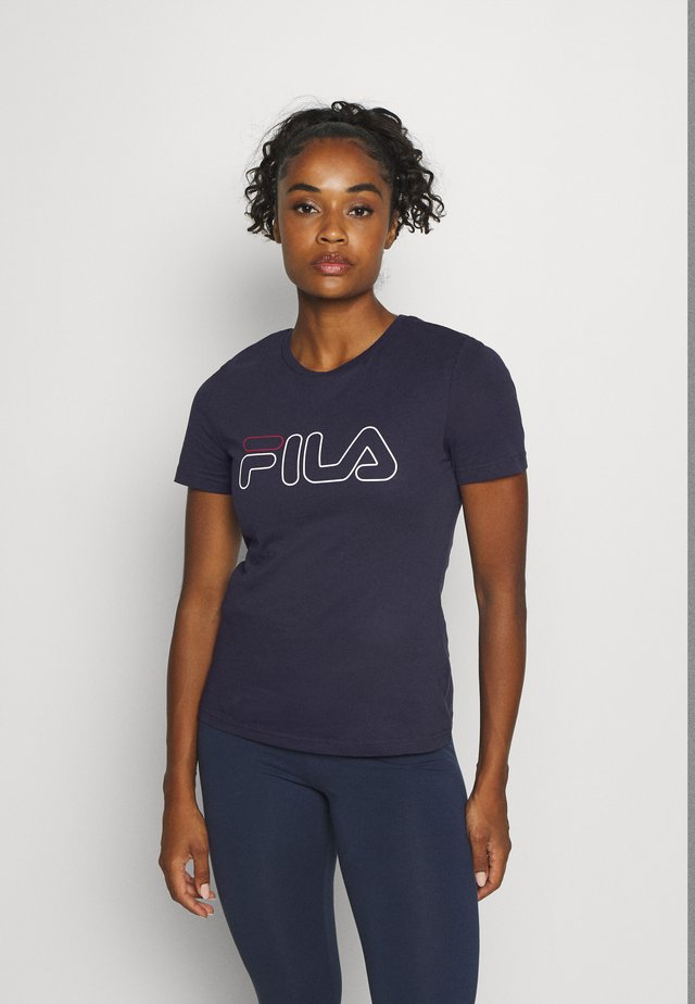 LADAN - T-Shirt print - black iris