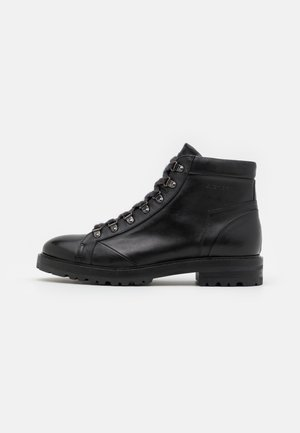 CHARLES - Lace-up ankle boots - black
