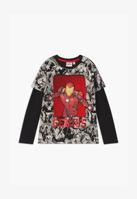 Desigual - MARVEL IRON MAN - Longsleeve - black - 0