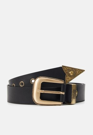 Belt - black/gold-coloured