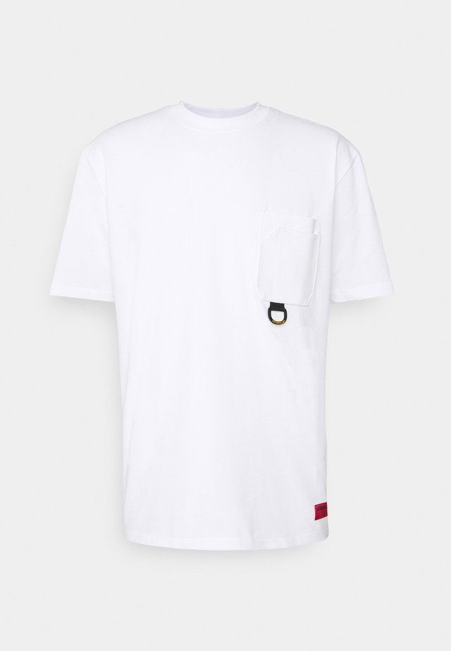 WORKWEAR POCKET - T-shirts basic - white