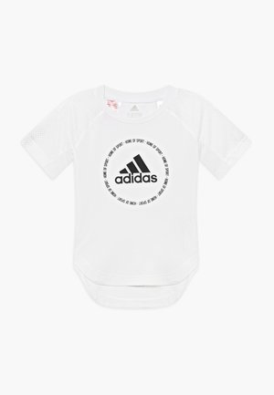 BOLD - T-shirt con stampa - white/black