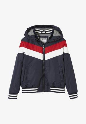 MIT KAPUZE, COLORBLOCK-STYLE - Light jacket - night blue