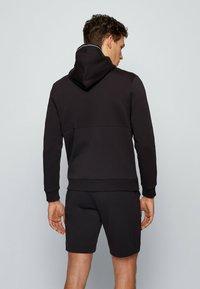 BOSS - SAGGY - Zip-up hoodie - black - 2