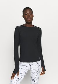 Under Armour - EMPOWERED LONG SHIRT CREW - Long sleeved top - black - 0