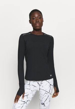 EMPOWERED LONG SHIRT CREW - Long sleeved top - black
