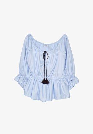HEMD MIT POMPONS 00602253 - Blouse - blue