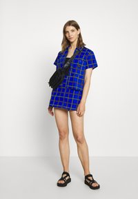 Obey Clothing - BAILEY SKIRT - Minisukně - blue - 1
