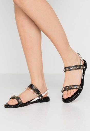 OFELIA - Sandals - brown/ocra
