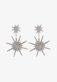 GALACTIC - Kolczyki - silber/crystal
