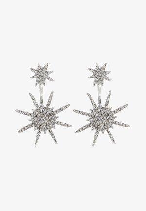 GALACTIC - Earrings - silber/crystal