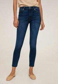 Mango - ISA - Jeans Skinny Fit - donkerblauw - 0