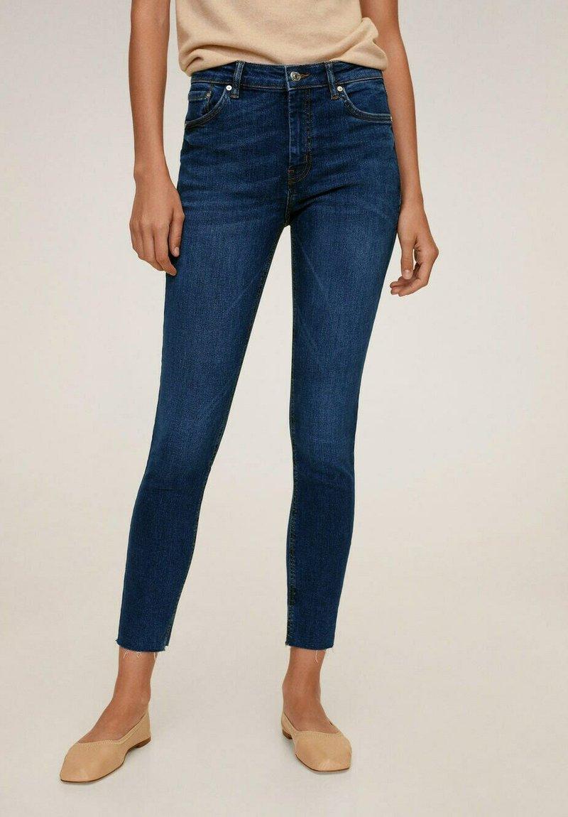 Mango - ISA - Jeans Skinny Fit - donkerblauw
