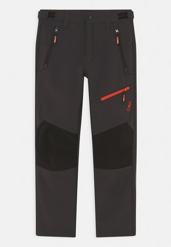 BOY LONG PANT  - Outdoor trousers - antracite/grenadine