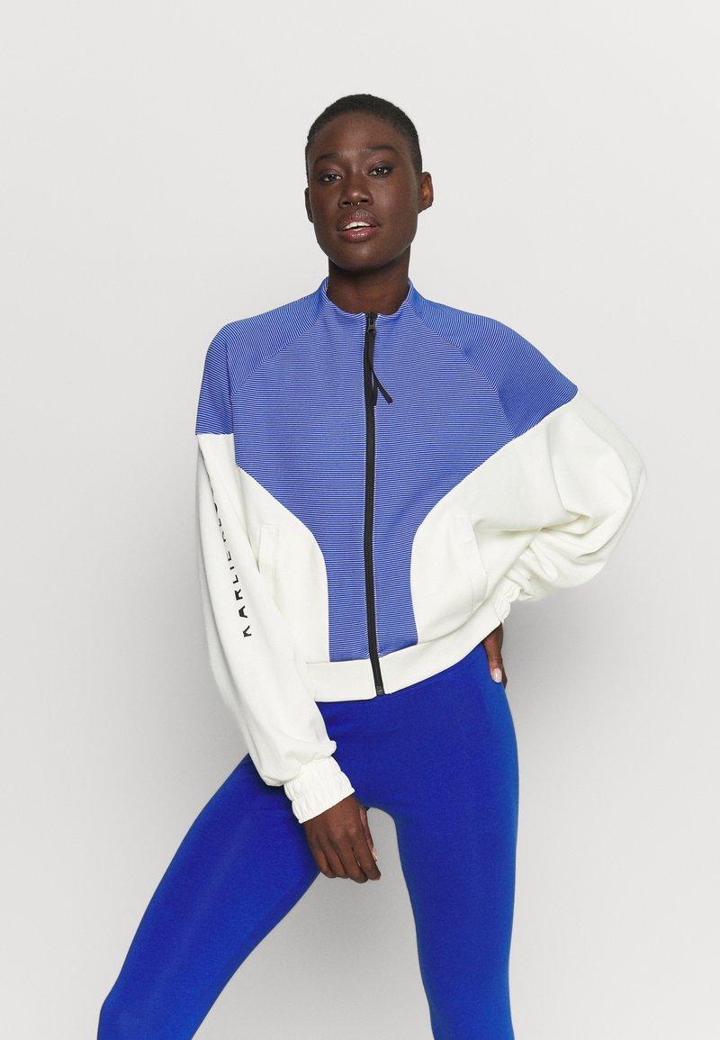 adidas Performance - COVER UP - Veste de survêtement - white/black