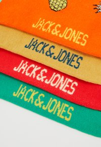 Jack & Jones - JACGOOD FOOD SHORT SOCK 4 PACK - Skarpety - dragon fire/blarney/bittersweat - 2