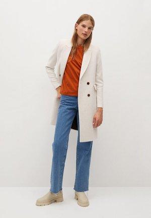 DALI - Classic coat - ecru