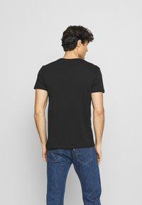 LTB - 3 Pack - Basic T-shirt - black/ olive/ grey melange - 3