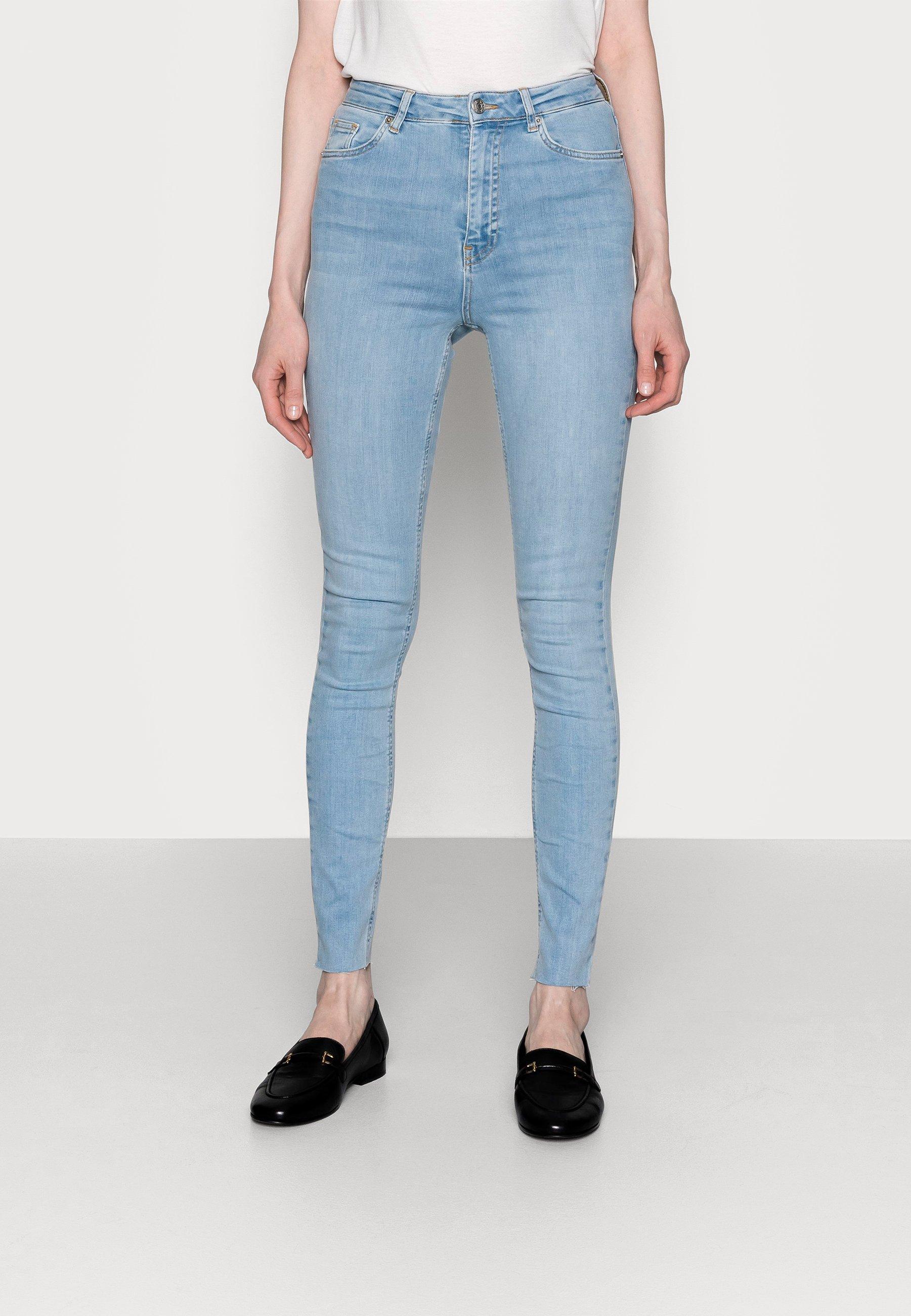 Women HIGH WAIST RAW  - Jeans Skinny Fit