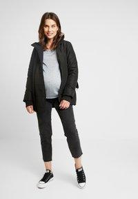 LOVE2WAIT - COAT DOUBLE ZIPPER PADDED - Winter jacket - black - 1