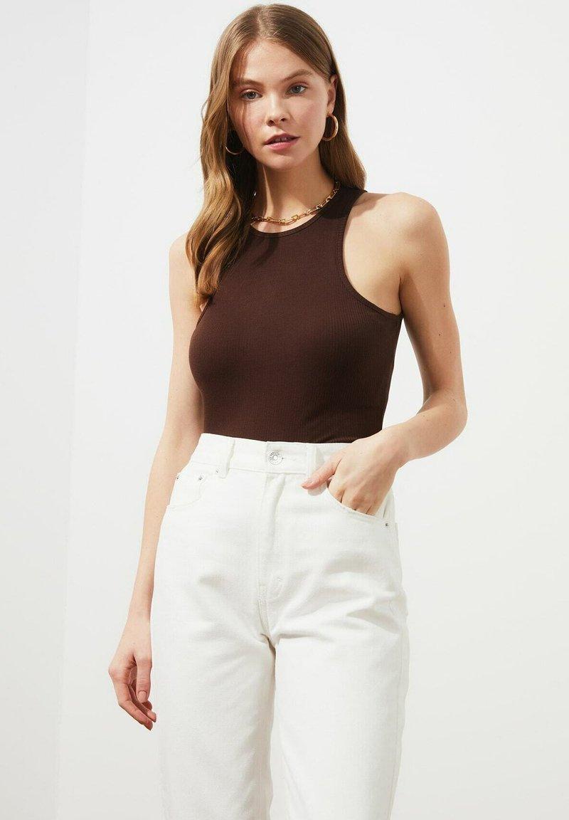 Trendyol - Top - brown