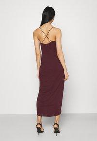 Forever New - CHARLOTTE DRAPE DRESS - Shift dress - burgundy - 2
