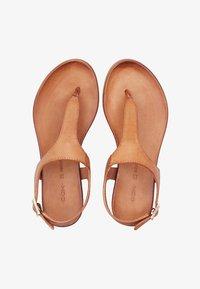 COX - ZEHENTRENNER - T-bar sandals - hellbraun - 1