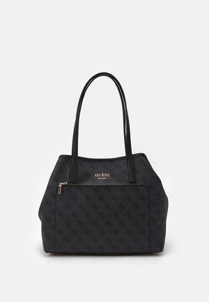 VIKKY ROO TOTE SET - Handbag - coal logo
