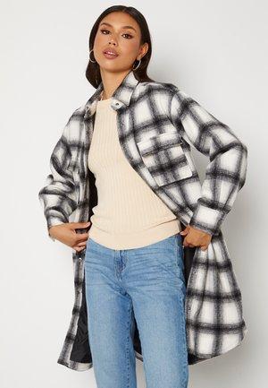 ALICE LONG CHECK  - Classic coat - grey