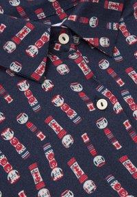 Brava Fabrics - KOKESHI - Button-down blouse - blue - 5