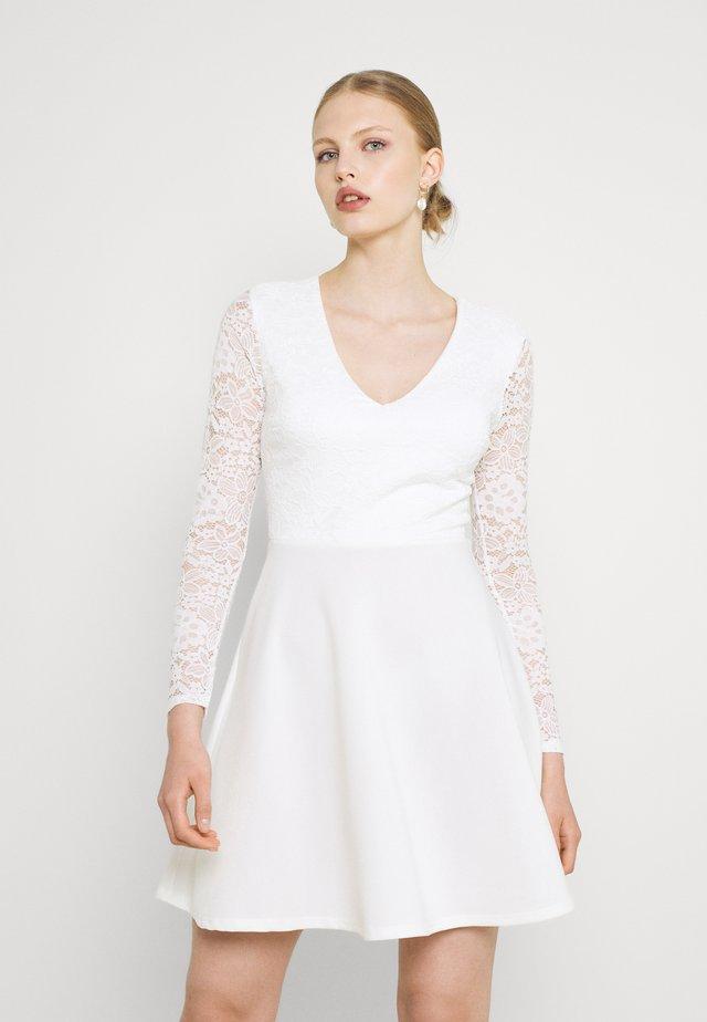 MICHELLE SKATER - Cocktail dress / Party dress - white