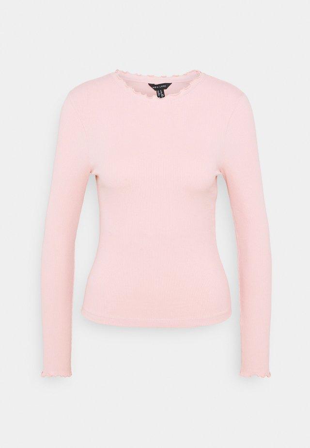 BABYLOCK TEE - Long sleeved top - light pink