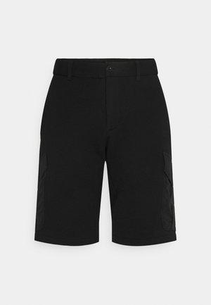 HARLEM CARGO MIXED MEDIA - Shorts - black