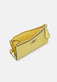 Coach - CROSSGRAIN MINI SKINNY - Wallet - retro yellow - 2