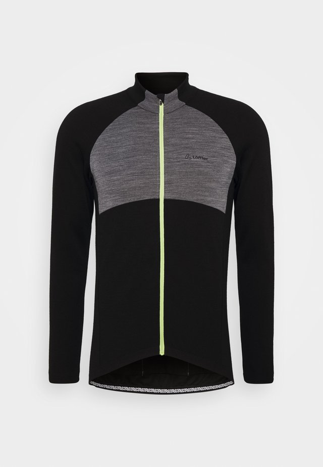 BIKE PACE - Sports shirt - grey melange