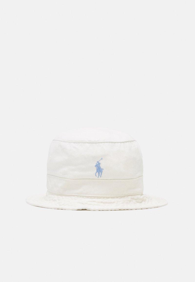 Polo Ralph Lauren - BUCKET HAT UNISEX - Kapelusz - chic cream