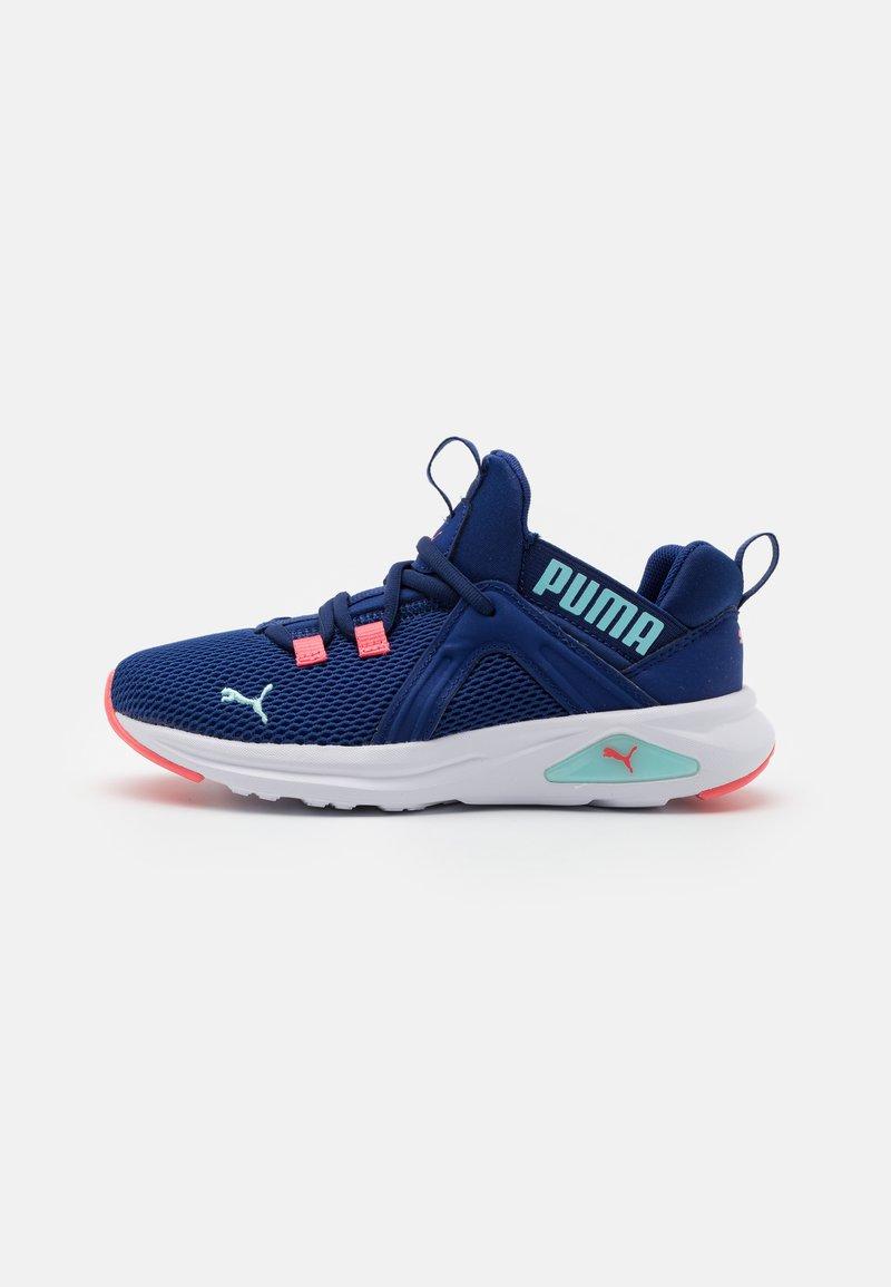 Puma - ENZO 2 WEAVE AC UNISEX - Neutral running shoes - elektro blue/island paradise