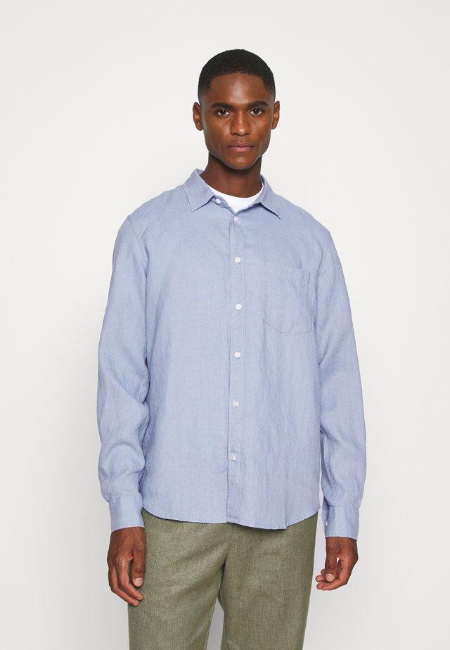 SHIRT - Shirt - blue dusty light