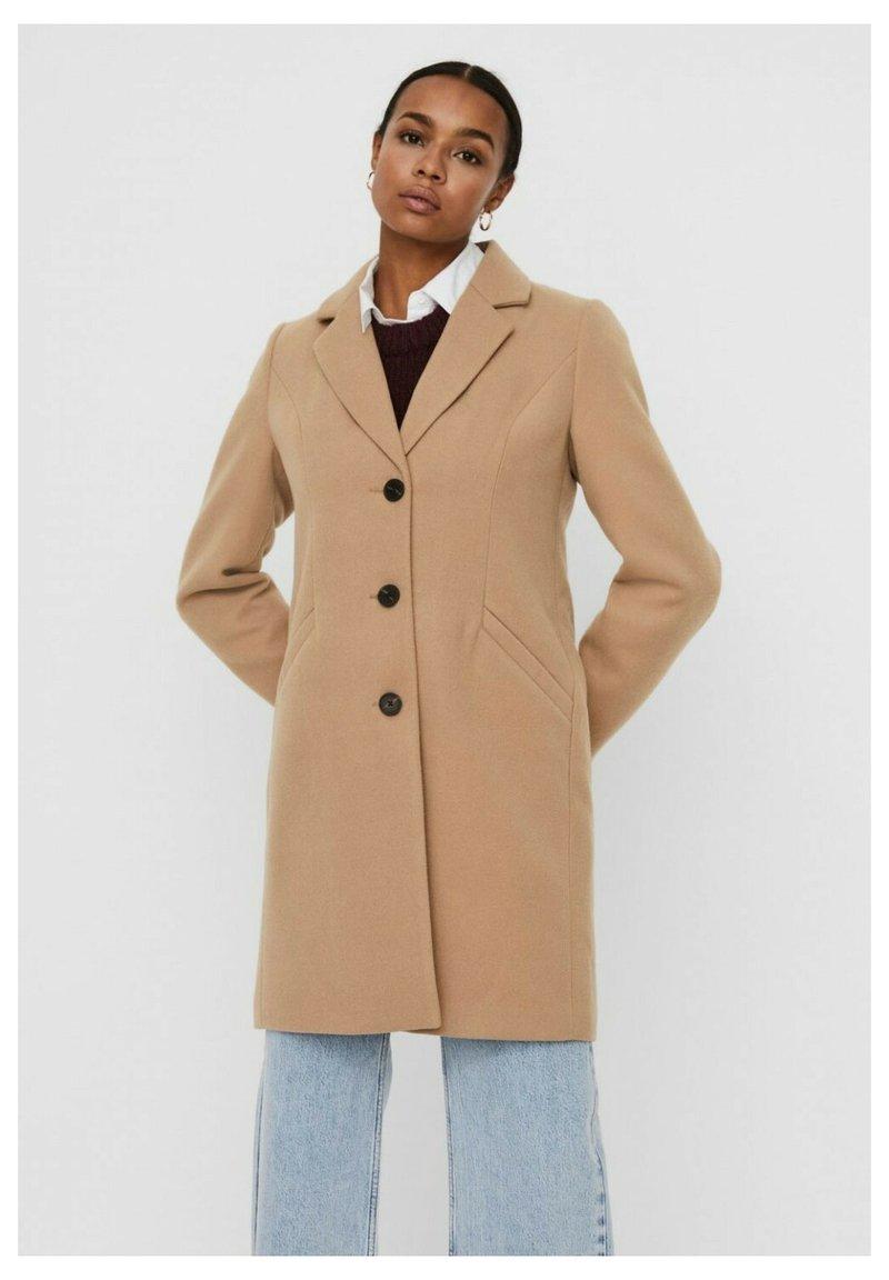 Vero Moda - Halflange jas - beige