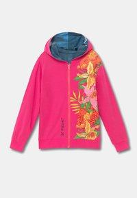 Desigual - FLORA - Sweater met rits - red - 5