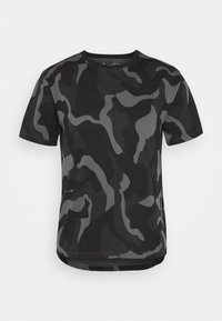 Under Armour - LIVE FASHION DENALI PRINT - Print T-shirt - black - 3