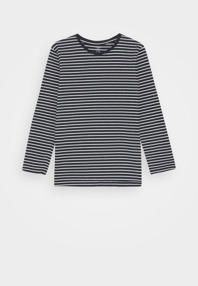 MINI BASIC STRIPE - Pitkähihainen paita - dark navy