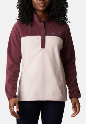 Fleece jumper - malbec mineral