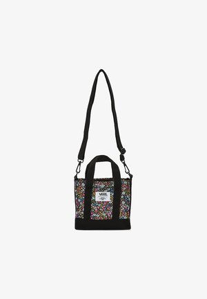 WM VANS MADE WITH LIBERTY FABRIC BAG - Borsa a mano - (liberty fabric) black