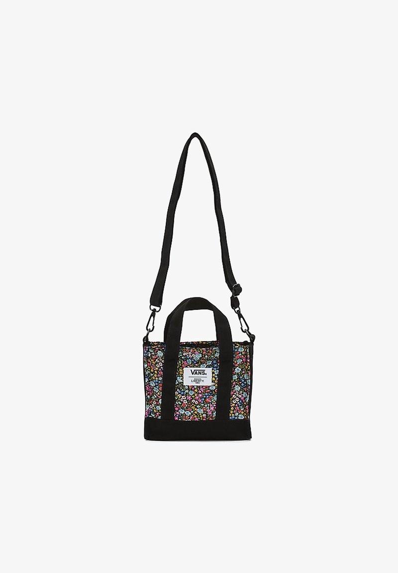 Vans - WM VANS MADE WITH LIBERTY FABRIC BAG - Handbag - (liberty fabric) black