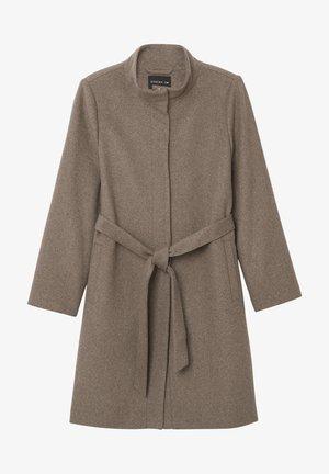 Classic coat - taupe mel