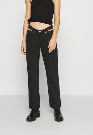 JOCELYN - Jeans straight leg - almost black