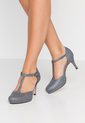 Klassiske pumps - platin glam
