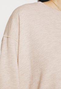 Freequent - FQRELAX - Sweatshirt - silver gray melange - 4